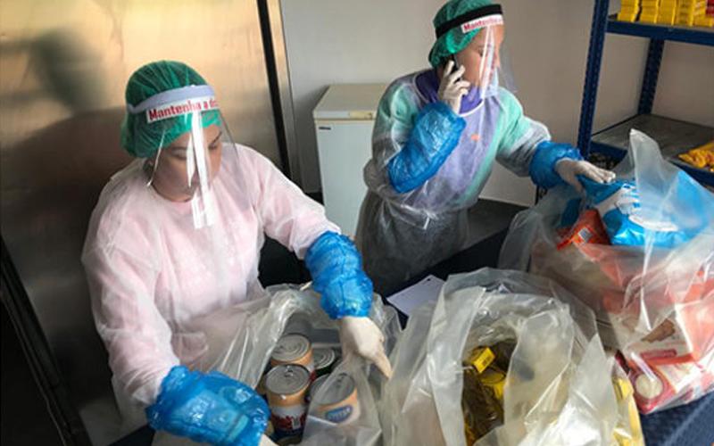 Centro Comunitário Mais Cidadão (União Mutualista Nossa Senhora da Conceição) reforça apoios devido à pandemia
