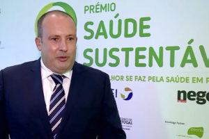 9ª edição do Prémio Saúde Sustentável, testemunho de Pedro Santos